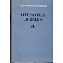 Literatūra ir kalba (VII tomas)/ Korsakas K.