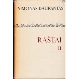 RAŠTAI II/ Daukantas Simonas