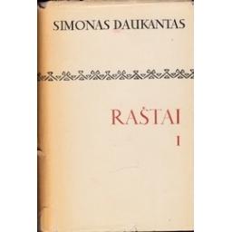 RAŠTAI I/ Daukantas Simonas
