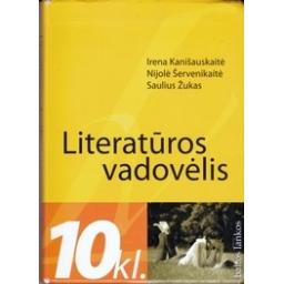 Literatūros vadovėlis 10 kl./ Kanišauskaitė I. ir kt.