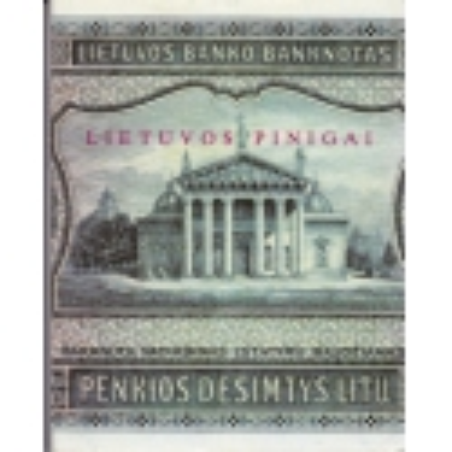 Lietuvos pinigai 1915-1941/ Rūta Kuncienė