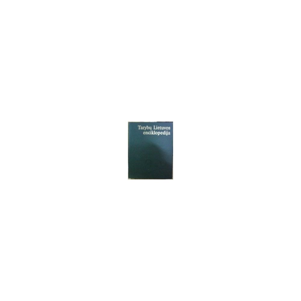 Tarybų Lietuvos enciklopedija (I tomas)