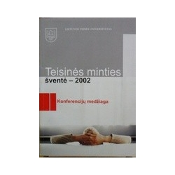 Teisinės minties šventė - 2002. - Autorių kolektyvas