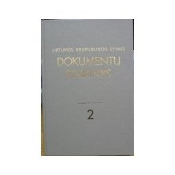 Lietuvos Respublikos Seimo dokumentų rinkinys 2(8)